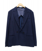 LANVIN en Bleu(ランバンオンブル)の古着「ダブルジャケット」|ネイビー