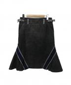 sacai luck(サカイ ラック)の古着「スカート」 グレー