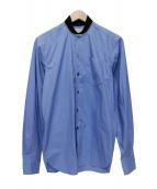 MAISON KITSUNE(メゾンキツネ)の古着「長袖シャツ」|ブルー