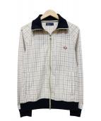 FRED PERRY(フレッドペリ)の古着「ジップブルゾン」|ベージュ
