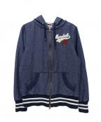 Franklin & Marshall(フランクリンマーシャル)の古着「フーデッドジャケット」|ブルー
