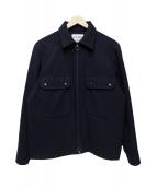 CAMO(カーモ)の古着「ウールCPOジャケット」 ネイビー