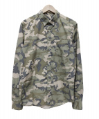 SOPHNET.(ソフネット)の古着「Camouflage Button Down Shirt」|グリーン