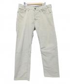 PT05(ピーティーゼロチンクエ)の古着「ストレッチコーデュロイパンツ」|ホワイト