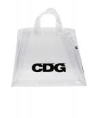 CDG(コム・デ・ギャルソン)の古着「PVCビニルバッグ」 クリア