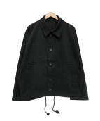 YOKO SAKAMOTO(ヨーコ サカモト)の古着「OVER COACHES JACKET」|ブラック