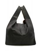 GANZO(ガンゾ)の古着「レザートートバッグ」|ブラック