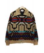 PENDLETON(ペンドルトン)の古着「ジップアップウールジャケット」|ブラウン