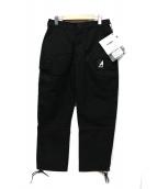 ARK AIR(アークエアー)の古着「COMBAT TROUSERS」|ブラック