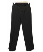 AP STUDIO(エーピーステゥディオ)の古着「Side vents パンツ」|ブラック