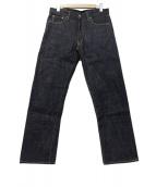BURGUS PLUS(バーガスプラス)の古着「デニムパンツ」|インディゴ