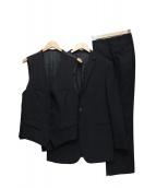 BURBERRY BLACK LABEL(バーバリーブラックレーベル)の古着「3ピースセットアップスーツ」 ブラック
