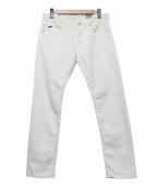 YANUK(ヤヌーク)の古着「ストレッチジーンズ」|ホワイト