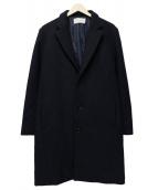 LIDnM(リドム)の古着「チェスターコート」 ネイビー