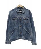 Wrangler(ラングラ)の古着「デニムシャツ」|ブルー