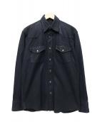 lucien pellat-finet(ルシアンペラフィネ)の古着「デニムジャケット」 ブラック