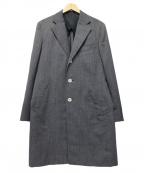 SANYO(サンヨー)の古着「チェスターコート」|グレー