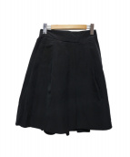FOXEY(フォクシー)の古着「フレアスカート」|ブラック