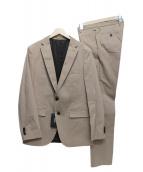 BOSS HUGO BOSS(ボスヒューゴボス)の古着「セットアップスーツ」 ベージュ