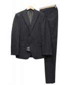 BOSS HUGO BOSS(ボスヒューゴボス)の古着「セットアップスーツ」 グレー