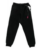 GRAMICCI(グラミチ)の古着「フリースパンツ」|ブラック