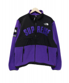 SUPREME×THE NORTH FACE(シュプリーム×ザ・ノースフェイス)の古着「Arc Logo Denali Fleece Jacket」|パープル