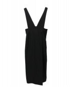 Noble(ノーブル)の古着「ジャンパースカート」|ブラック