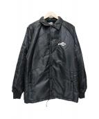 atmos(アトモス)の古着「BOA COACH JACKET」 ブラック