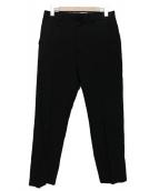 UNUSED(アンユーズド)の古着「シルクスラックス」|ブラック