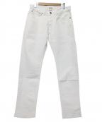 Serge Blanco(セルジュブランコ)の古着「製品染 5ポケットストレッチパンツ」|ホワイト