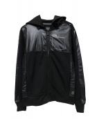 G-STAR RAW(ジースターロウ)の古着「ジップパーカー」|ブラック