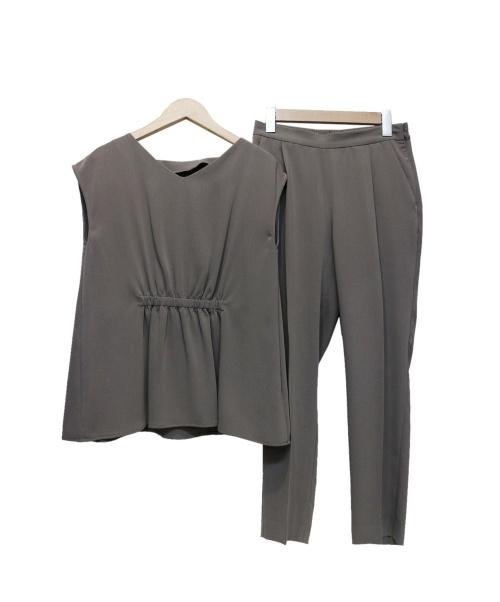 IENA(イエナ)IENA (イエナ) セットアップブラウス グレー サイズ:36の古着・服飾アイテム