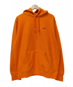 Supreme(シュプリーム)の古着「Small Box Hooded Sweatshirt」|オレンジ