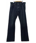 RALPH LAUREN(ラルフローレン)の古着「デニムパンツ」|インディゴ