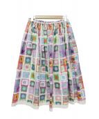tricot COMME des GARCONS(トリコ コムデギャルソン)の古着「デザインスカート」 マルチカラー