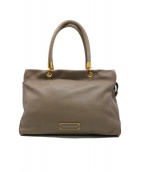 Marc by Marc Jacobs(マーク・バイ・マーク・ジェイコブズ)の古着「Too Hot to Handle Large Tote C」 ベージュ