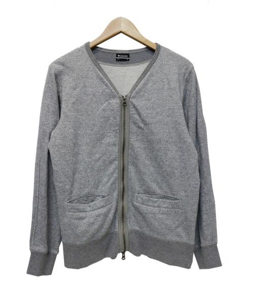 Columbia(コロンビア)Columbia (コロンビア) ノーカラージャケット グレー サイズ:Sの古着・服飾アイテム
