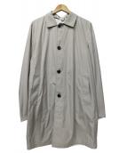 kired(キーレッド)の古着「ステンカラーコート」|ベージュ