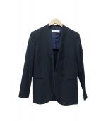 BALLSEY(ボールジィ)の古着「ノーカラージャケット」|ネイビー