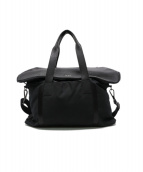 TUMI(トゥミ)の古着「レザー切替トートバッグ」|ブラック