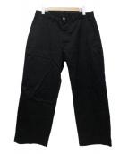 MARGARET HOWELL(マーガレットハウエル)の古着「NEW BASIC CHINO」|ブラック