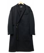 THE RERACS(ザリラクス)の古着「ルーズチェスターコート」|ブラック