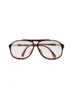 POLO RALPH LAUREN(ポロラルフローレン)の古着「伊達眼鏡」|ブラウン
