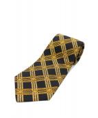CHANEL(シャネル)の古着「ネクタイ」|ブラック×ゴールド
