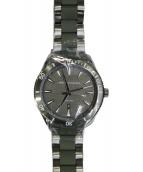 ARMANI EXCHANGE(アルマーニエクスチェンジ)の古着「腕時計」|ブラック