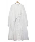 LEMAIRE(ルメール)の古着「ブラウスワンピース」 ホワイト
