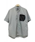 GREGORY FOR MAGIC NUMBER(グレゴリーフォーマジックナンバー)の古着「S/S BDシャツ」 グレー