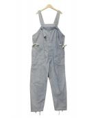 Engineered Garments(エンジニアードガーメン)の古着「ヴィンテージ加工オーバーオール」|インディゴ