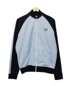 FRED PERRY(フレッドペリ)の古着「ジップジャケット」|ブルー