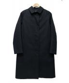 BEAUTY&YOUTH(ビューティーアンドユース)の古着「ステンカラーコート」|ネイビー
